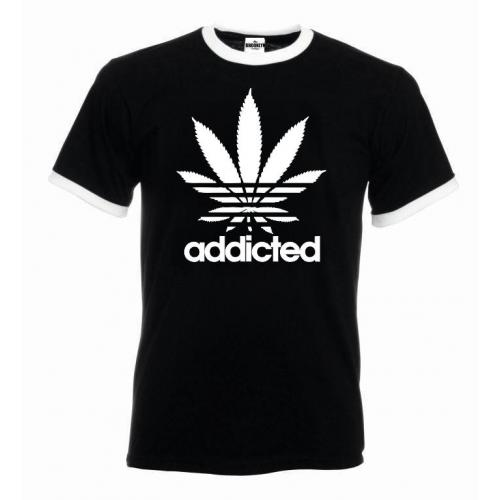 T-shirt oversize ADDICTED