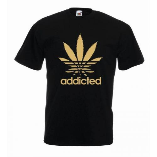 T-shirt oversize ADDICTED COLOR
