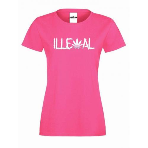 T-shirt lady Illegal
