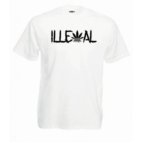 T-shirt oversize Illegal
