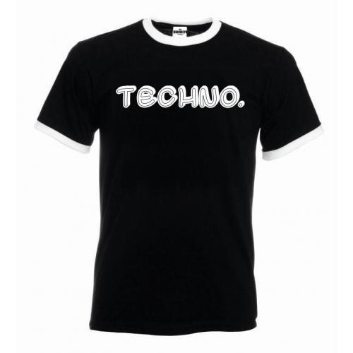 T-shirt oversize TECHNO