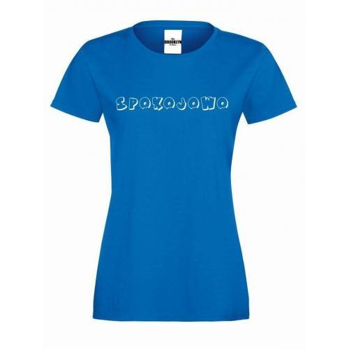 T-shirt lady SPOKOJOWO