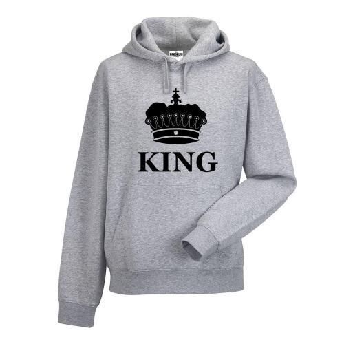 bluza z kapturem KING KORONA