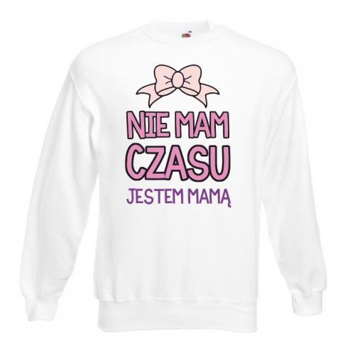 Bluza oversize DTG NIE MAM CZASU