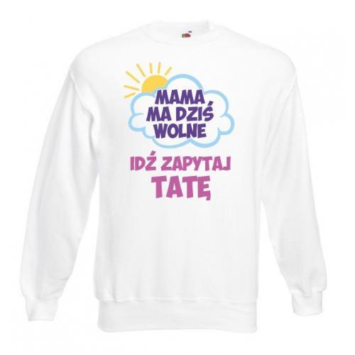 Bluza oversize DTG MAMA MA WOLNE