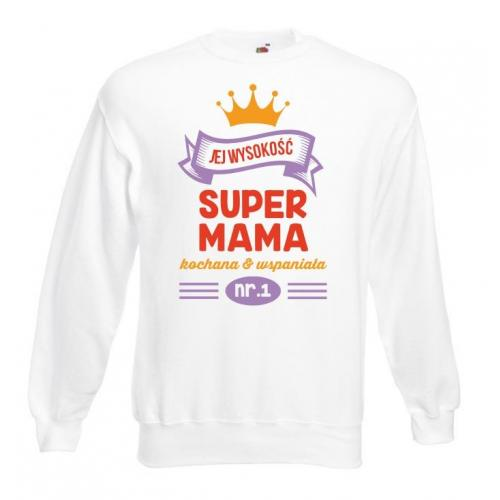 Bluza oversize DTG SUPER MAMA
