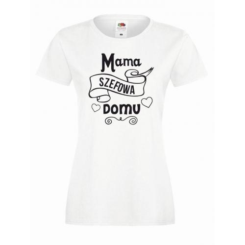 T-shirt lady SZEFOWA MAMA