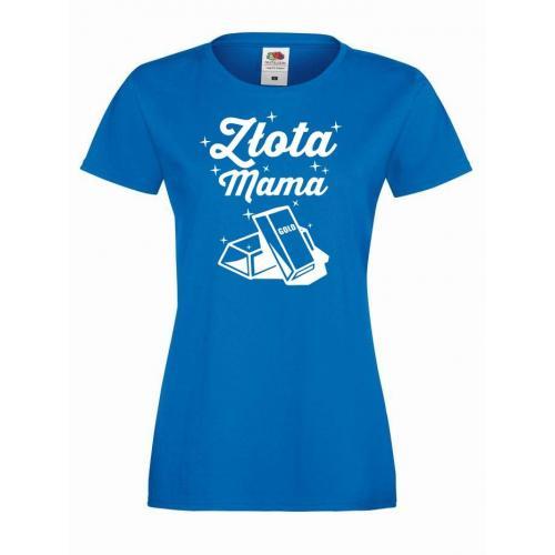 T-shirt lady ZŁOTA MAMA