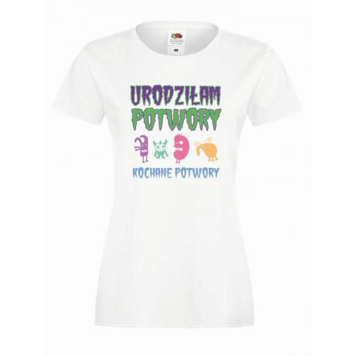 T-shirt lady DTG KOCHANE POTWORY