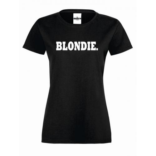 T-shirt lady BLONDIE.
