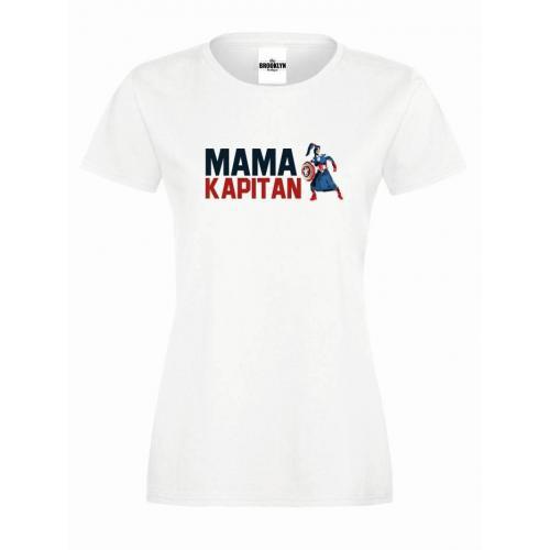T-shirt lady slim DTG MAMA KAPITAN