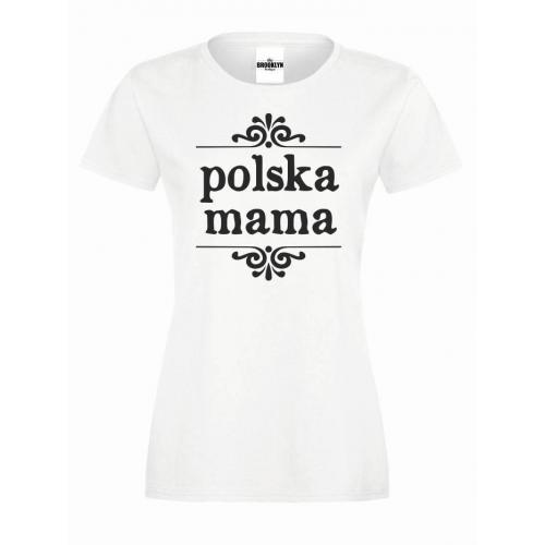 T-shirt lady POLSKA MMAMA