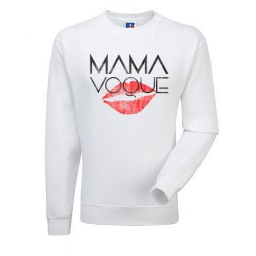 Bluza oversize DTG MAMA KISS