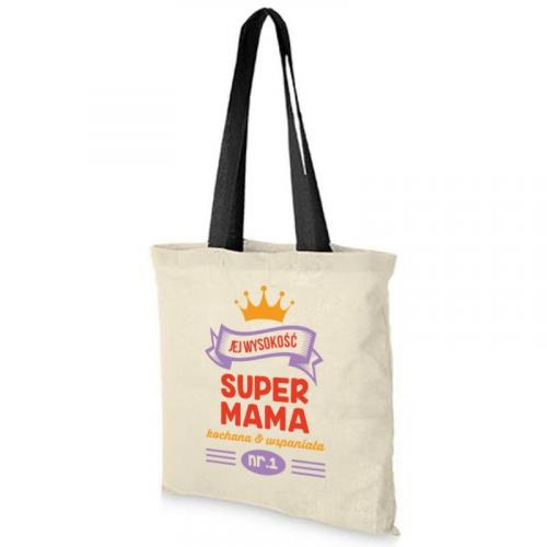Torba dtg JEJ WYSOKOŚĆ SUPER MAMA