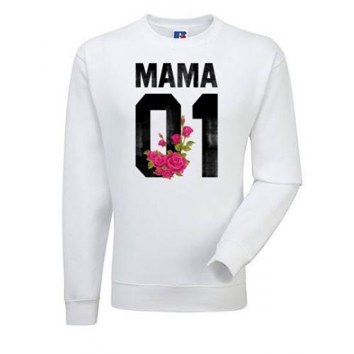 Bluza oversize DTG MAMA FLOWER
