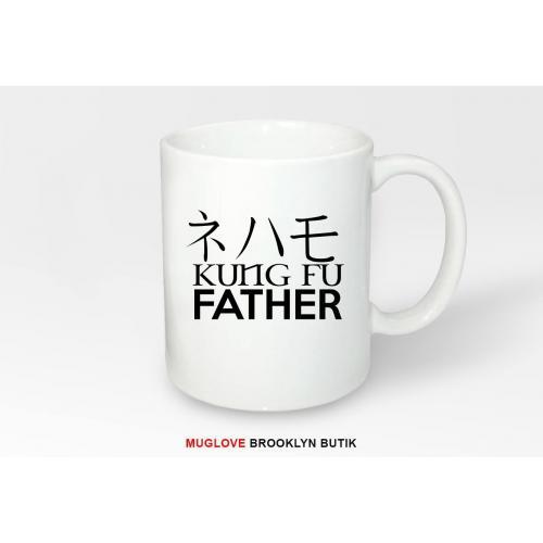 Kubek z nadrukiem KUNG FU FATHER