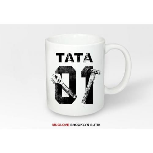 Kubek z nadrukiem TATA 01 BLACK