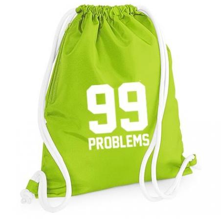 plecak worek 99 PROBLEMS KOLOROWE SZNURKI