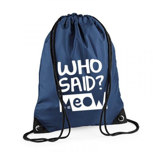 Plecak worek BG WHO SAID ?