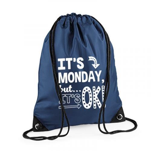 Plecak worek BG IT'S MONDAY