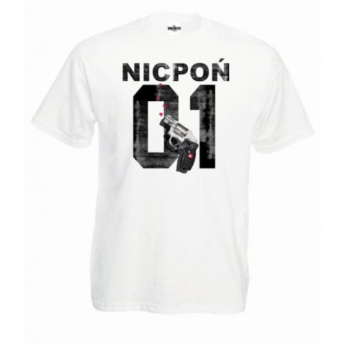 T-shirt Nicpoń 01 Gun