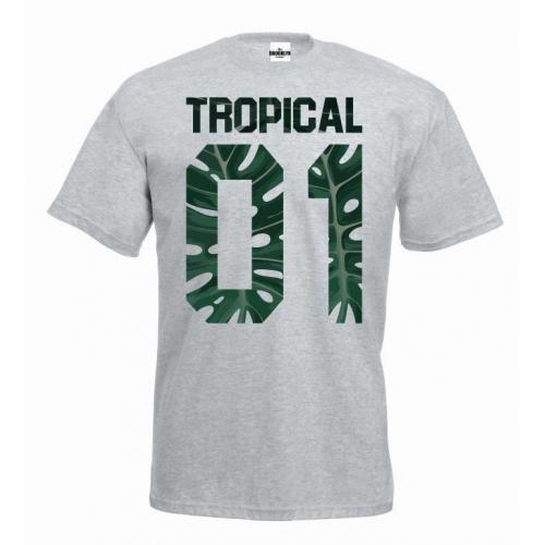 T-shirt Tropical 01 Monstera