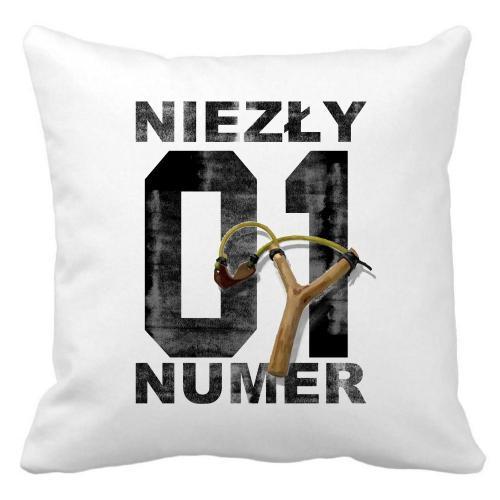 Poduszka Niezły Numer 01