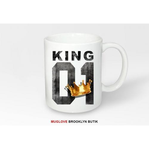 Kubek z nadrukiem King 01 Korona