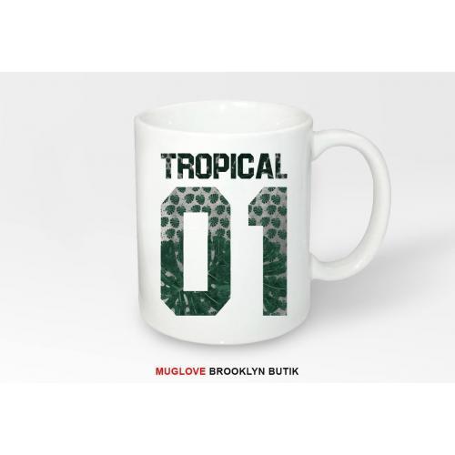 Kubek z nadrukiem Tropical 01