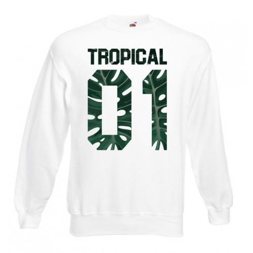 Bluza dtg Tropical 01 Monstera