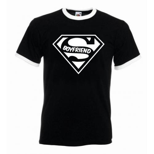 T-shirt oversize SUPER BOYFRIEND