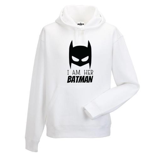 bluza z kapturem Her Batman