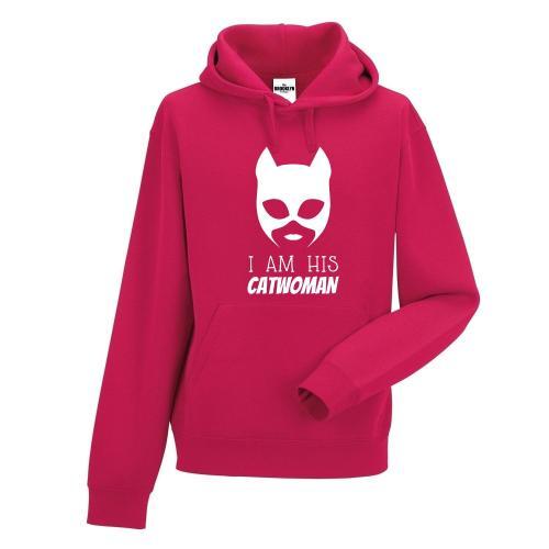 bluza z kapturem His Catwoman