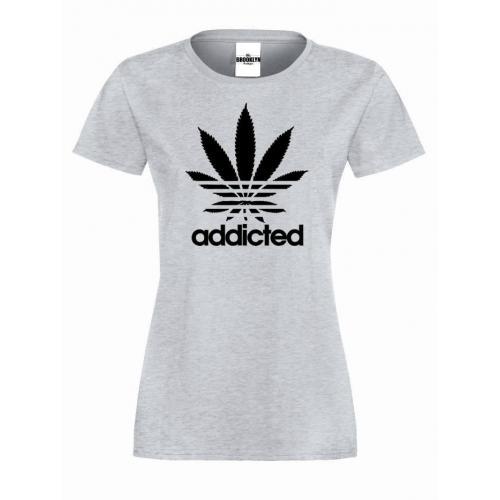 T-shirt lady ADDICTED