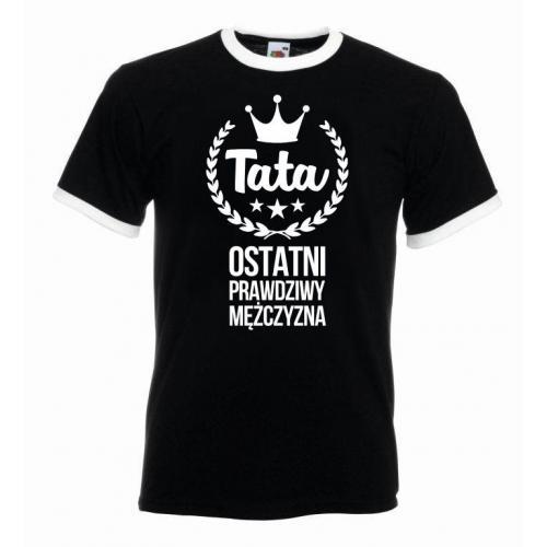 T-shirt oversize OSTATNI MĘŻCZYZNA
