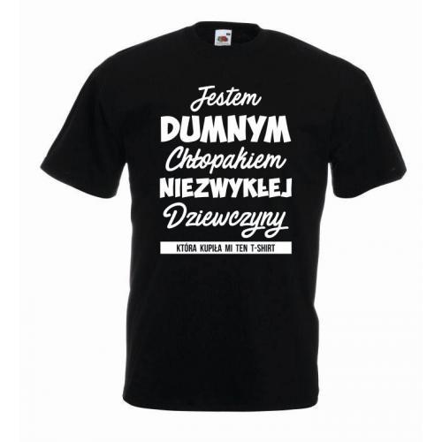 T-shirt oversize JESTEM DUMNYM CHŁOPAKIEM