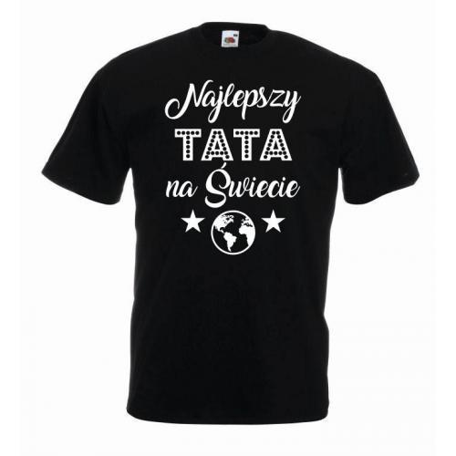 T-shirt oversize NAJLEPSZY TATA NA ŚWIECIE
