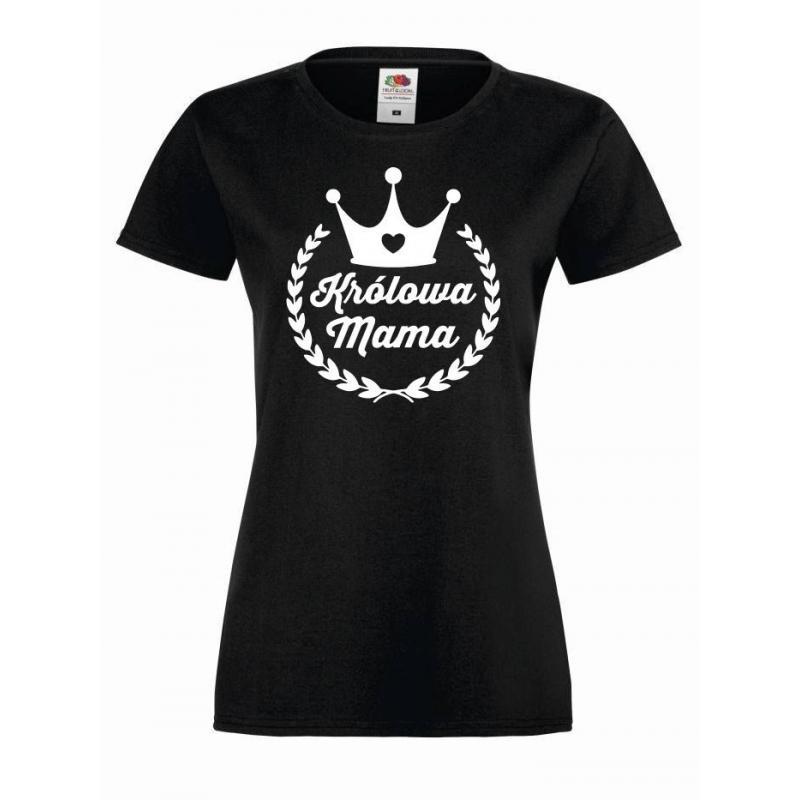 T-shirt lady KRÓLOWA MAMA