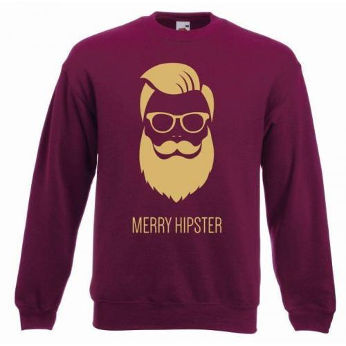 bluza oversize MERRY HIPSTER GLASSES (OUTLET)