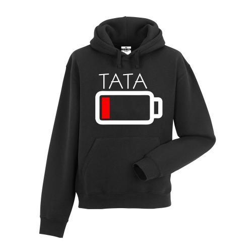 bluza z kapturem Tata bateria