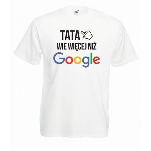 T-shirt oversize DTG TATA WIE WIĘCEJ