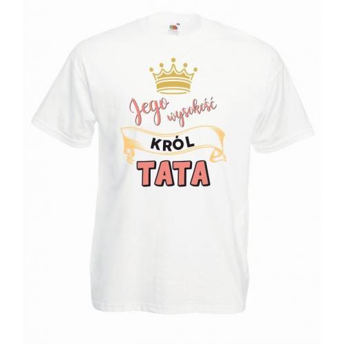 T-shirt oversize DTG KRÓL TATA