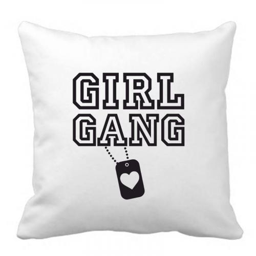 PODUSZKA druk GIRL GANG