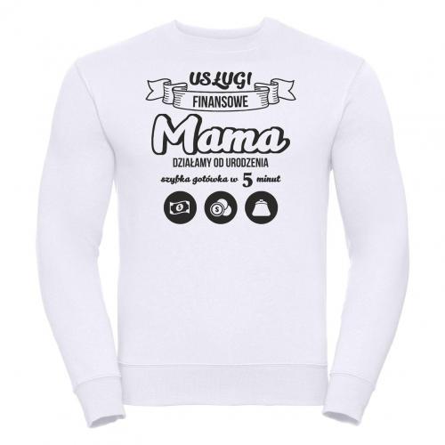 bluza oversize Dziękujemy Mamo