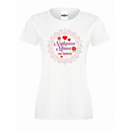 T-shirt lady Najlepsza mama