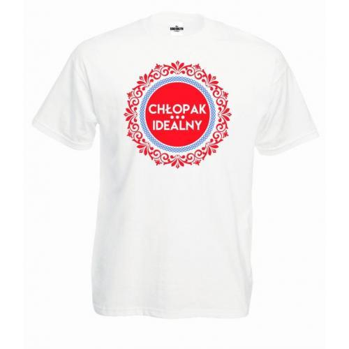 T-shirt oversize Chłopak idealny