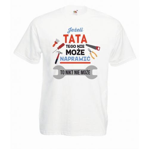 T-shirt oversize DTG TATA NAPRAWI