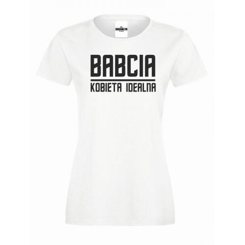 T-shirt lady/oversize babcia kobieta idealna
