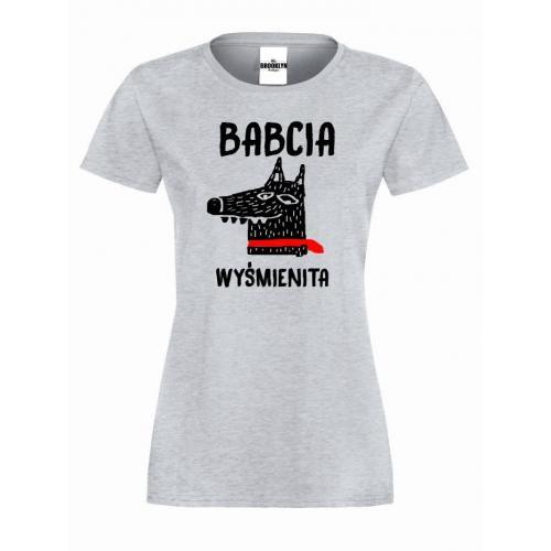 T-shirt lady/oversize babcia wyśmienita