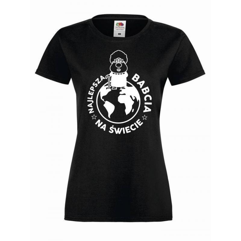 T-shirt lady/oversize NAJLEPSZA BABCIA NA ŚWIECIE